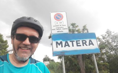 Marco, from Padua to cross Basilicata by bike