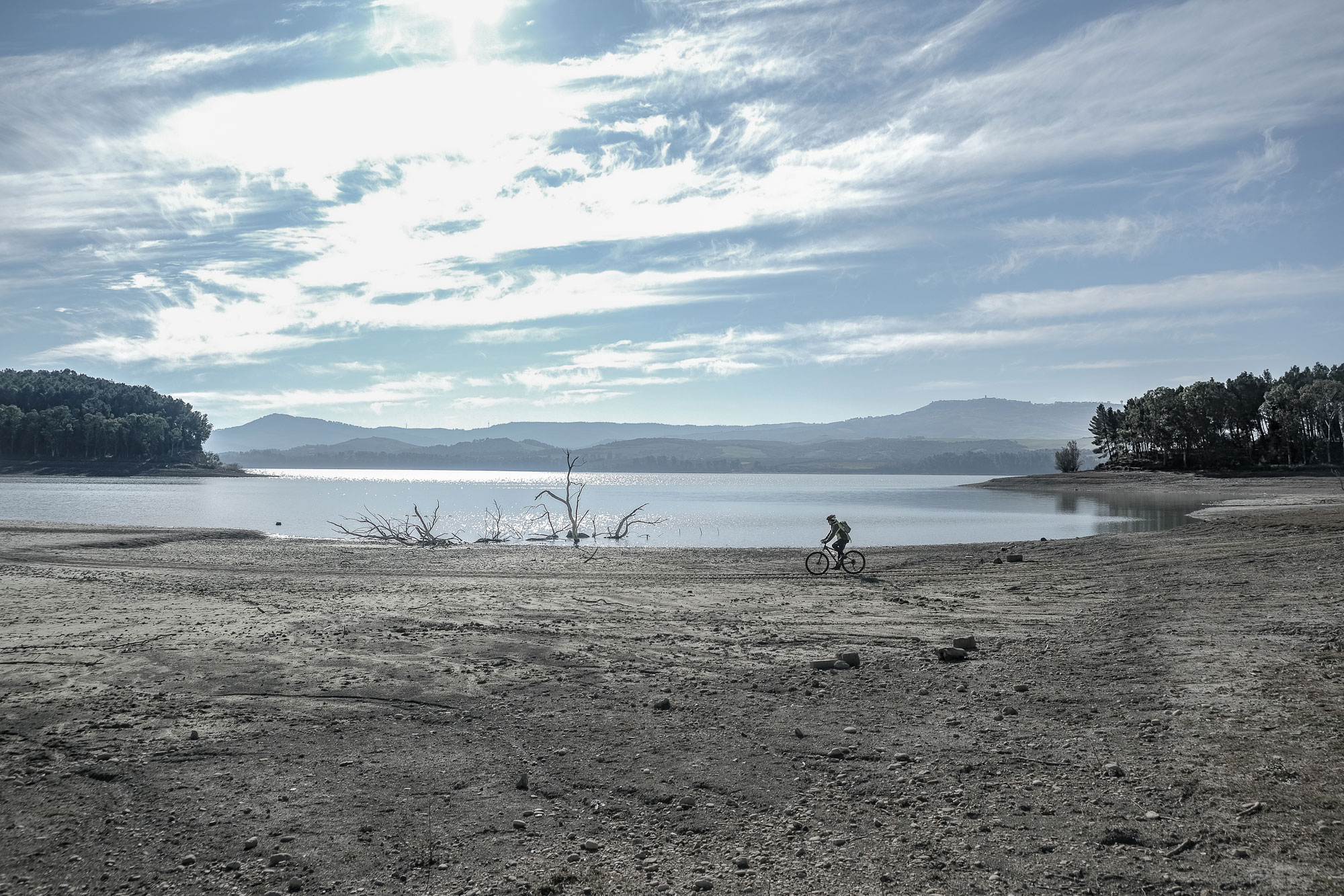 San Giuliano Lake and The Crypt Of The Original Sin 1 Day Cycling Tour